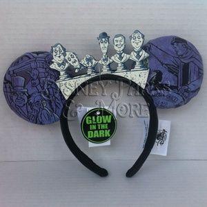 Disney Parks Haunted Mansion Busts Ears Headband